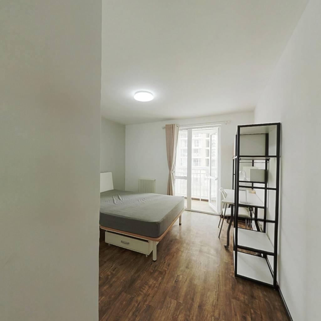 合租·弘善家园 3室1厅 北卧室图