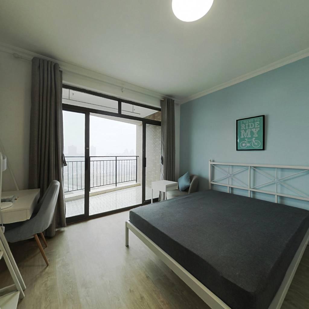 合租·保利西子湾 3室1厅 北卧室图