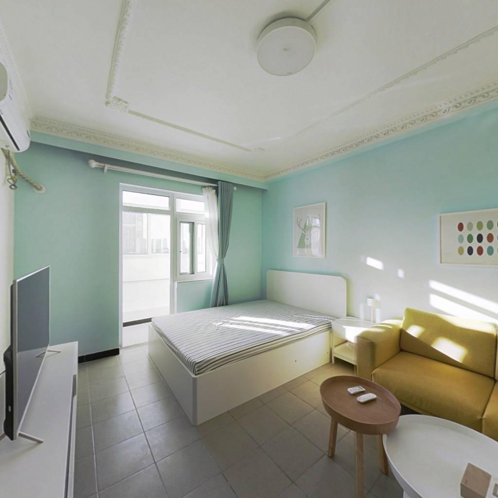 整租·珠海里 1室1厅 南卧室图