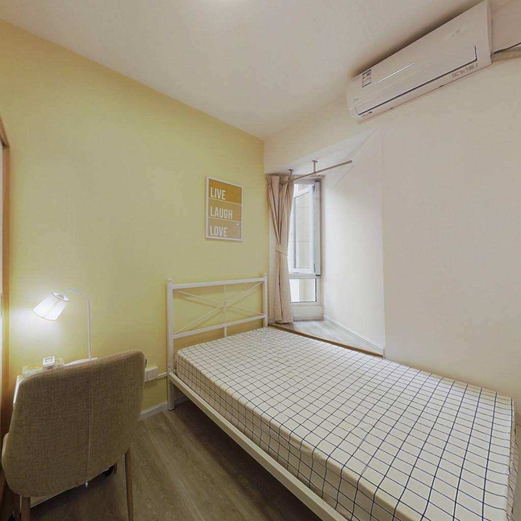 合租·泛悦城市广场 4室1厅 北卧室图