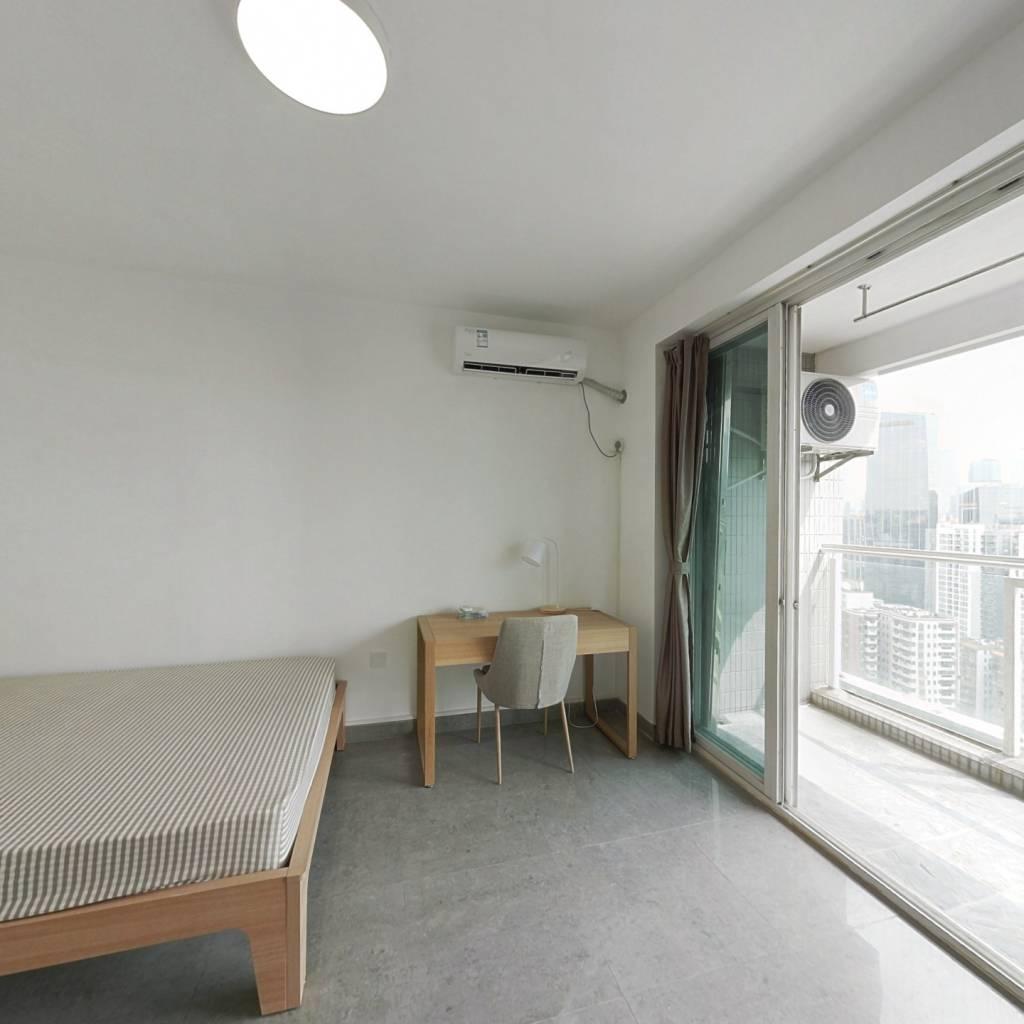 合租·天誉华庭 4室1厅 北卧室图