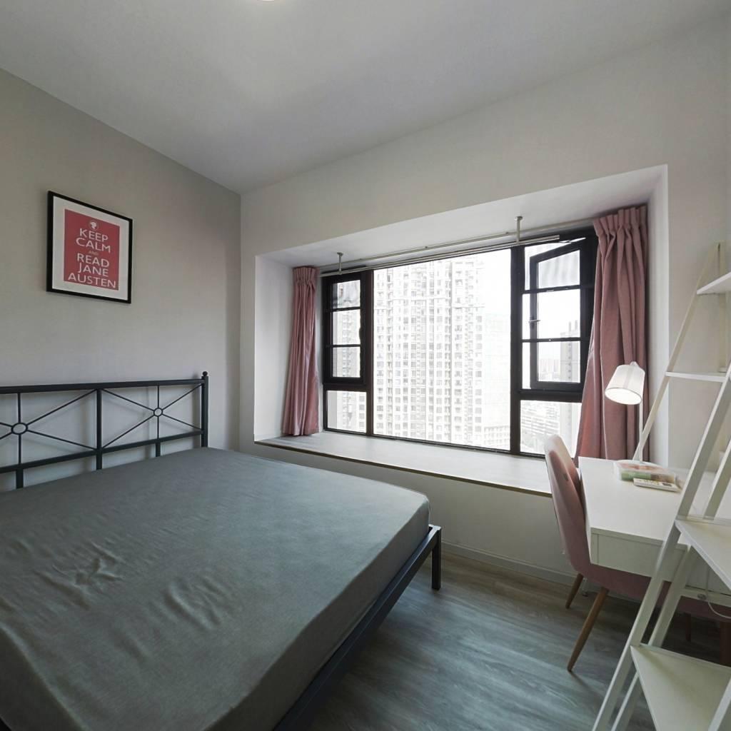 合租·成华奥园广场二期 4室1厅 东卧室图