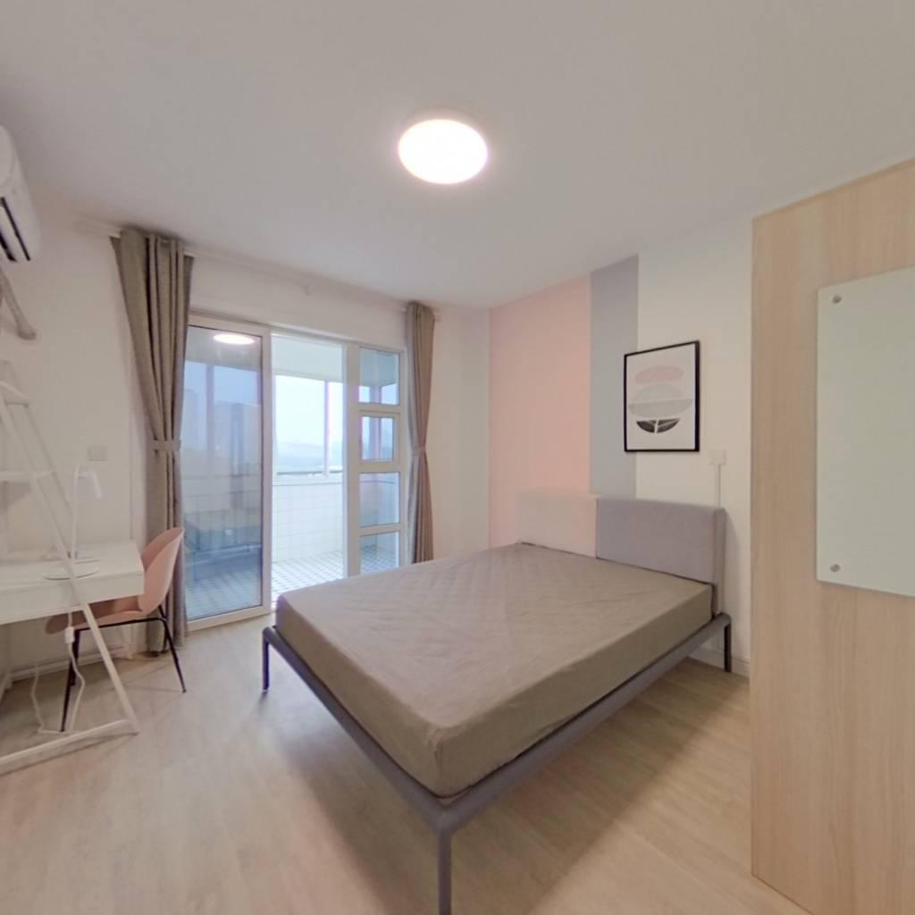 合租·新天家园 3室1厅 东卧室图