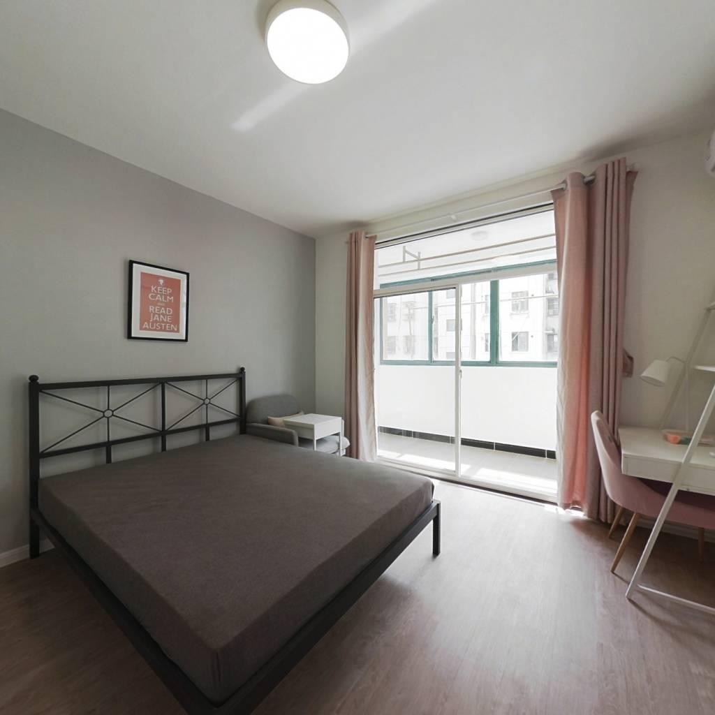 合租·天景山公寓春秀苑 4室1厅 北卧室图