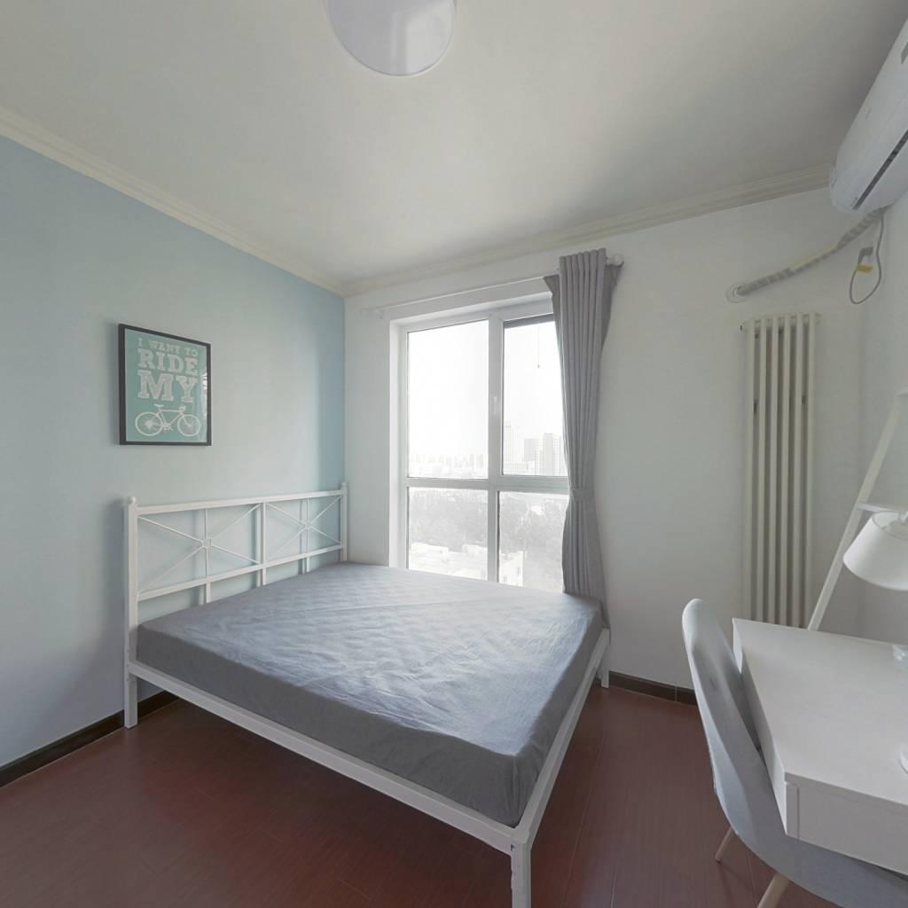 合租·富力桃园天富园 3室1厅 南卧室图