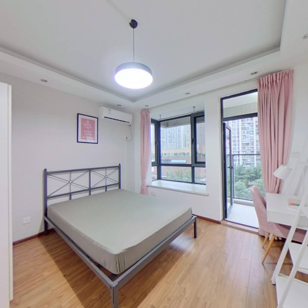 合租·翡翠城四期 3室1厅 东卧室图
