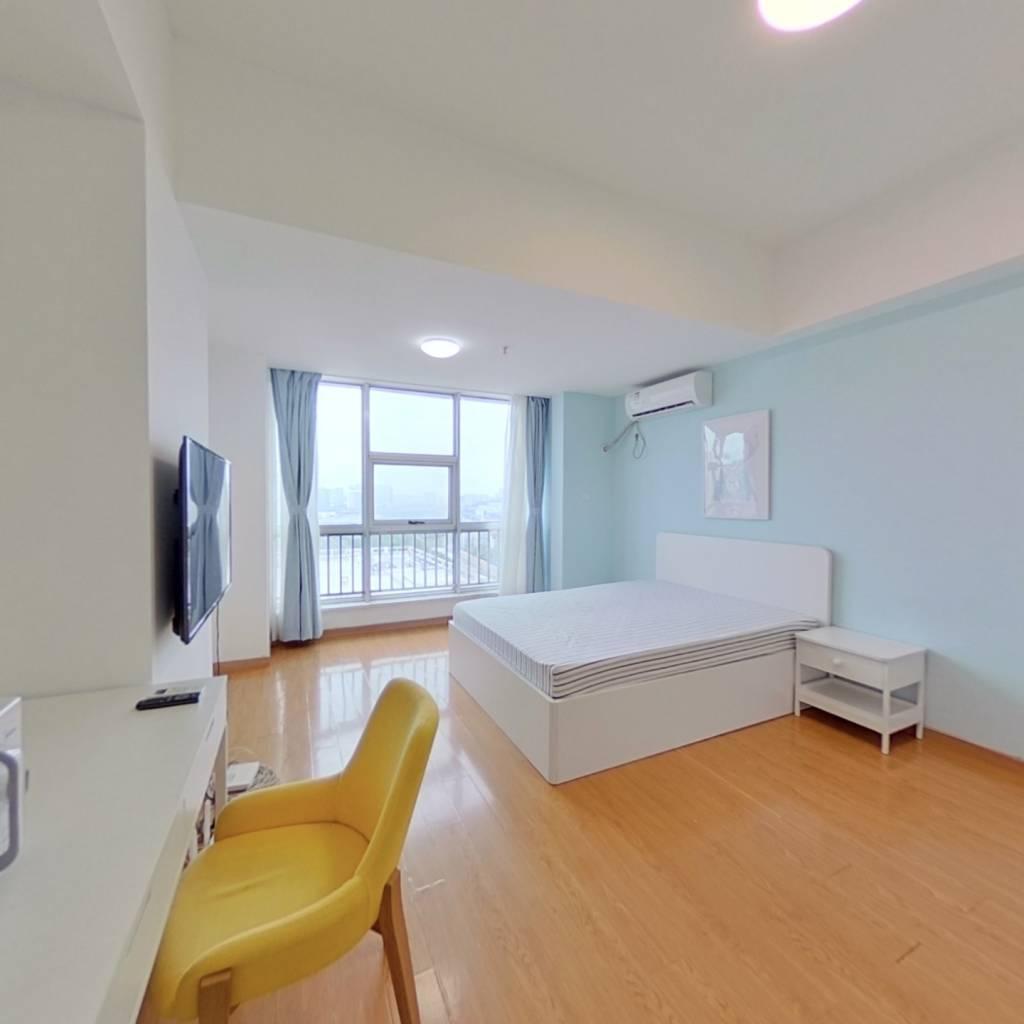 整租·铂悦公寓 1室1厅 北卧室图