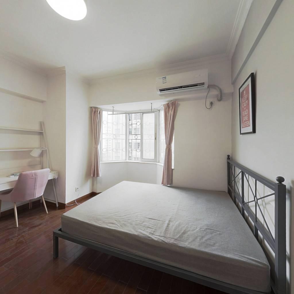 合租·华苑大厦 4室1厅 东卧室图