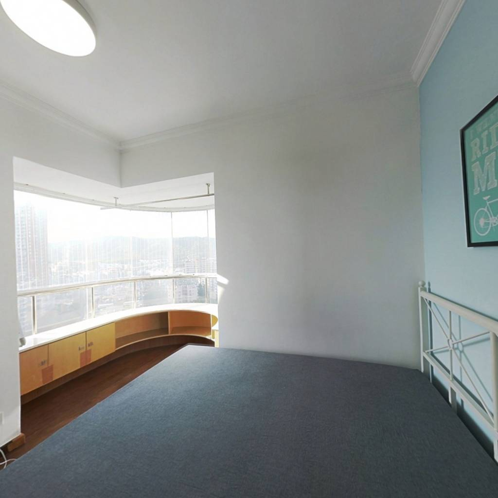 合租·云景花园云景名都 3室1厅 北卧室图
