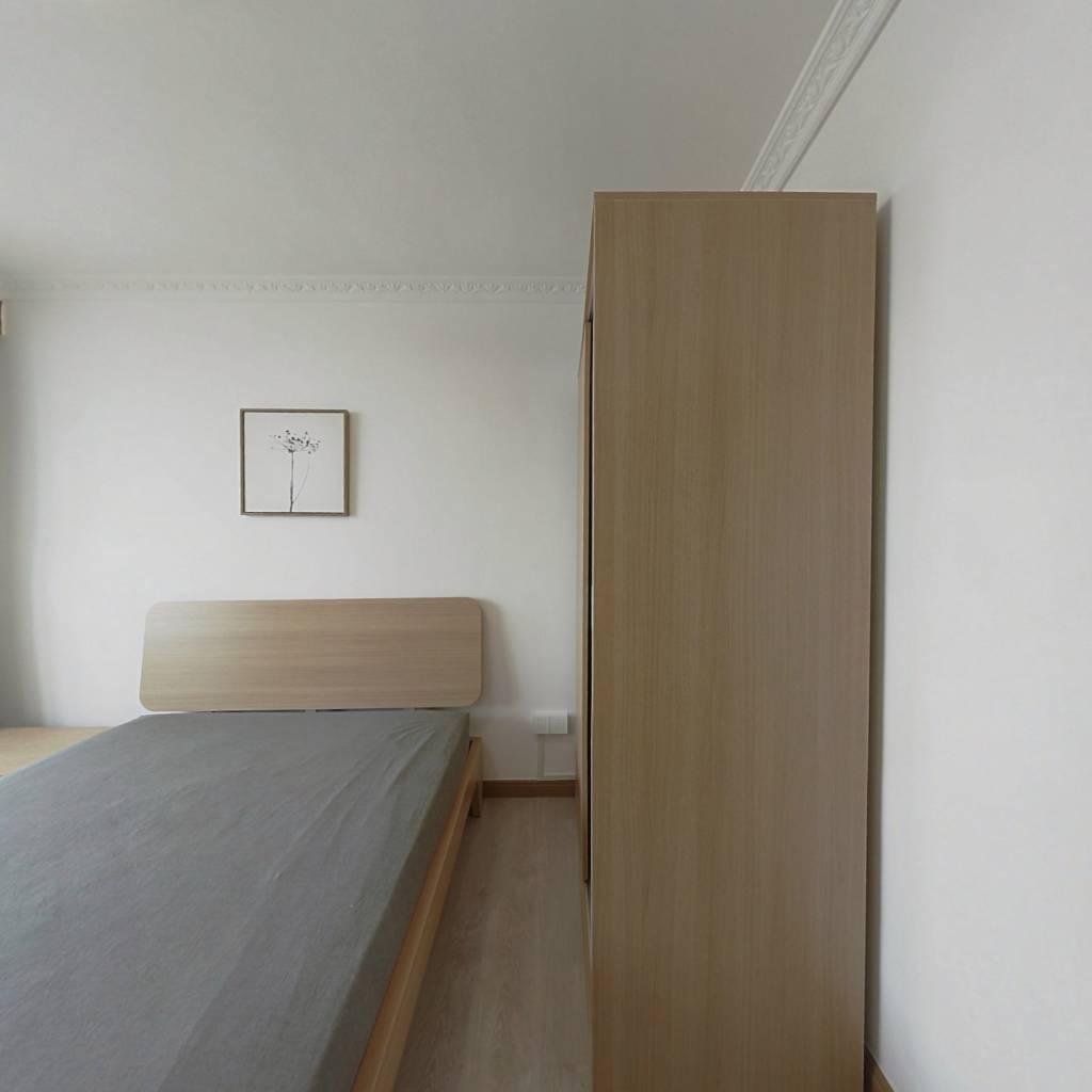 整租·灵新小区 2室1厅 南卧室图