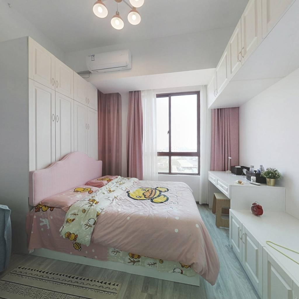 业主精装修全新配置 一室单身公寓 随时看房