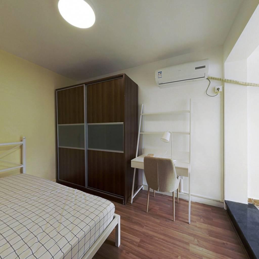 合租·京都苑 4室1厅 西卧室图