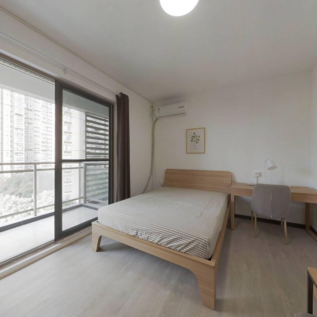 合租·新地盛世东方 4室1厅 北卧室图
