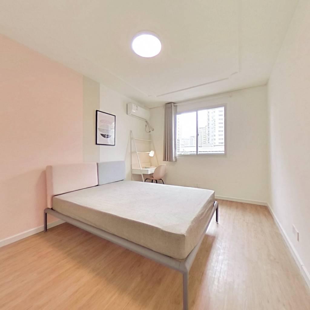 合租·东旺公寓 3室1厅 南卧室图
