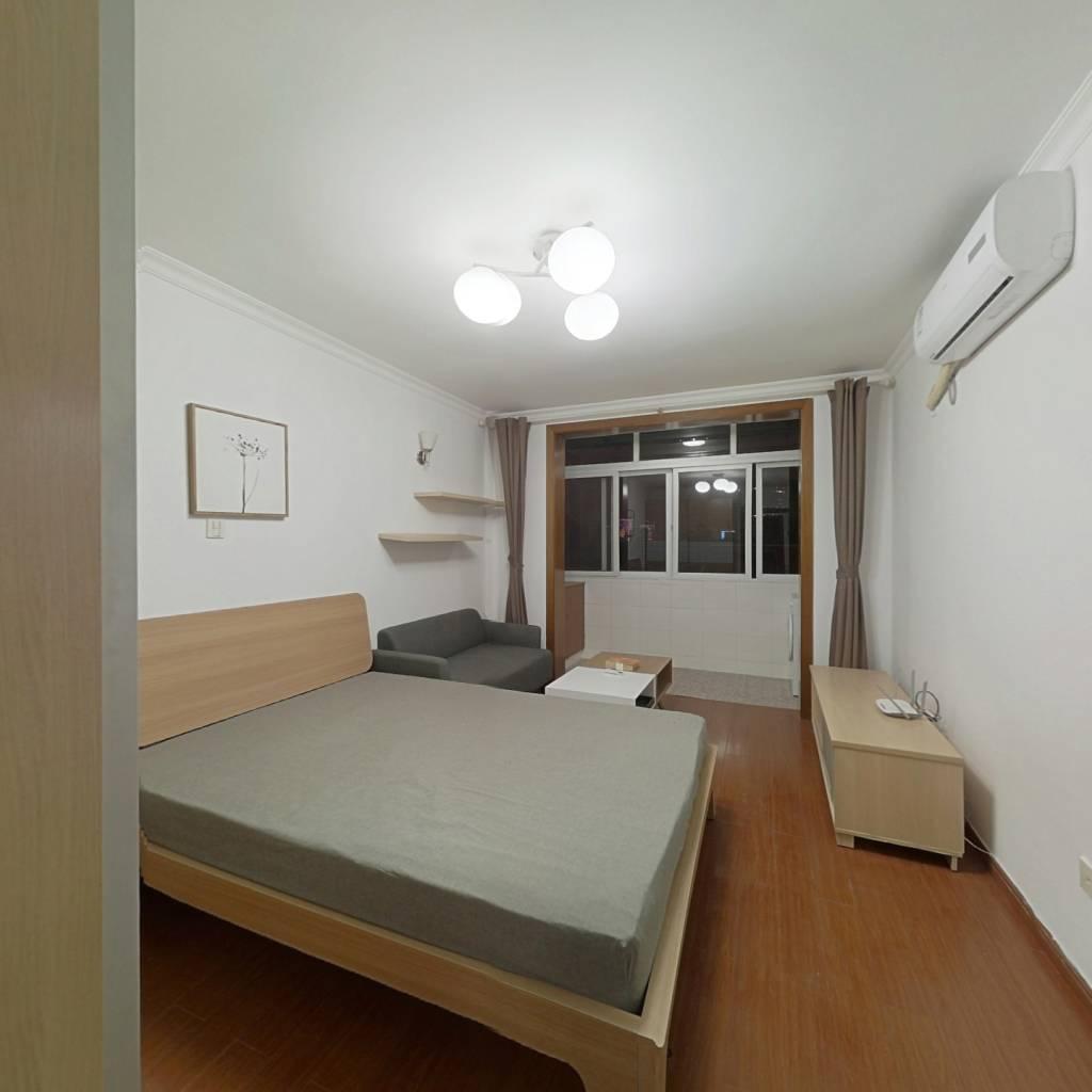 整租·曹杨五村(梅花园) 1室1厅 西北卧室图
