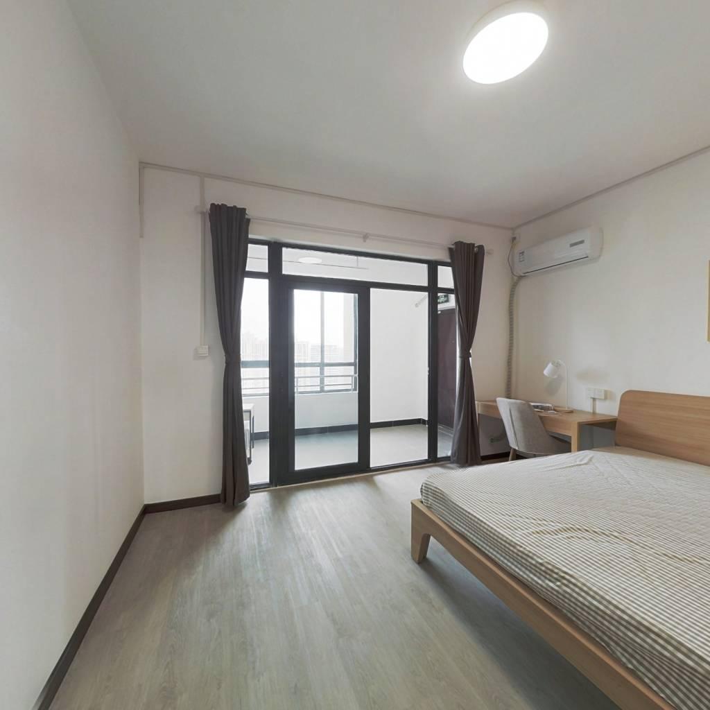 合租·紫澄花园 4室1厅 南卧室图