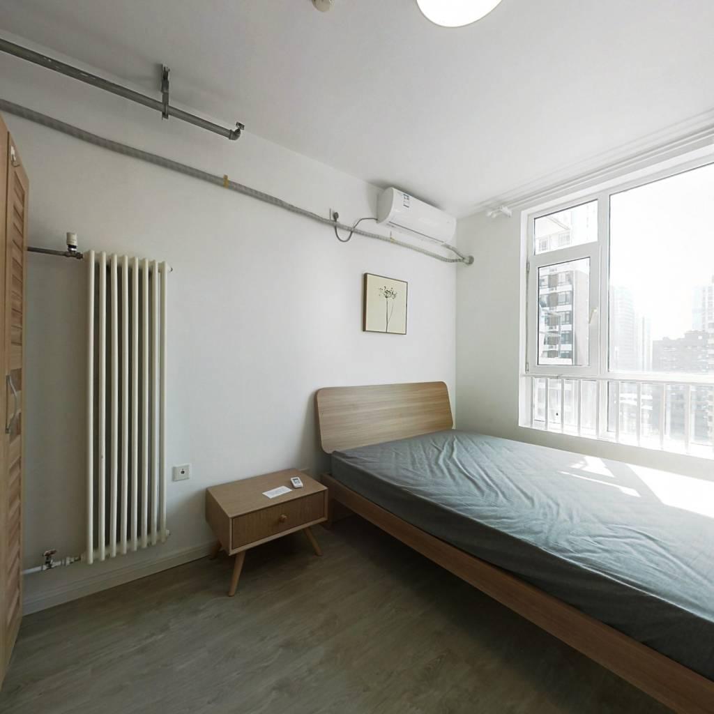 整租·美立方 1室1厅 西卧室图