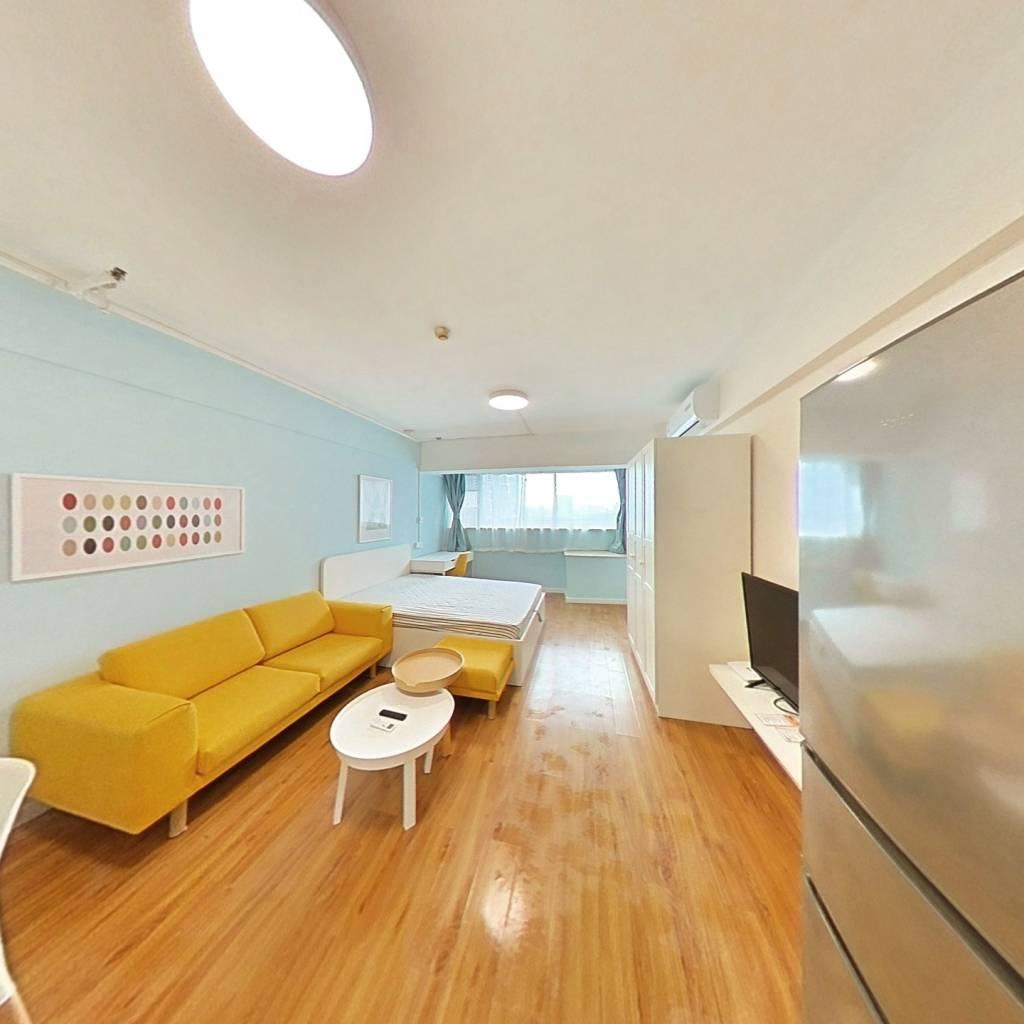 整租·楚天星座公寓 1室1厅 西卧室图