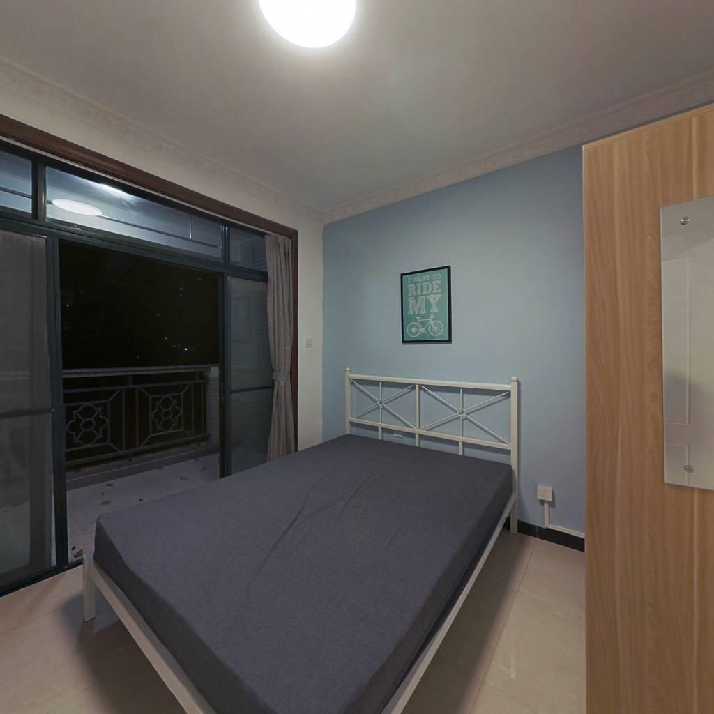 合租·新世界逸彩庭园 3室1厅 西卧室图
