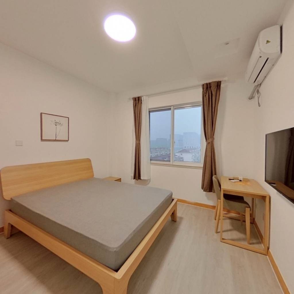 整租·九歌中庭 1室1厅 东卧室图