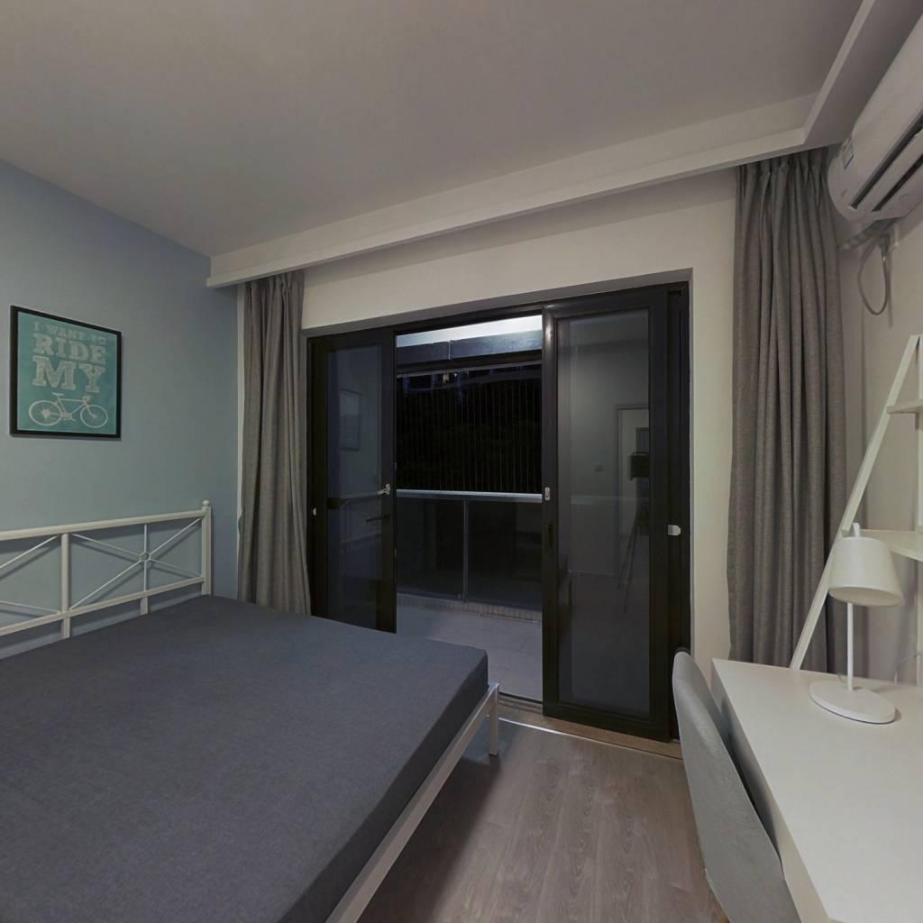 合租·亚运城媒体南村 3室1厅 西卧室图
