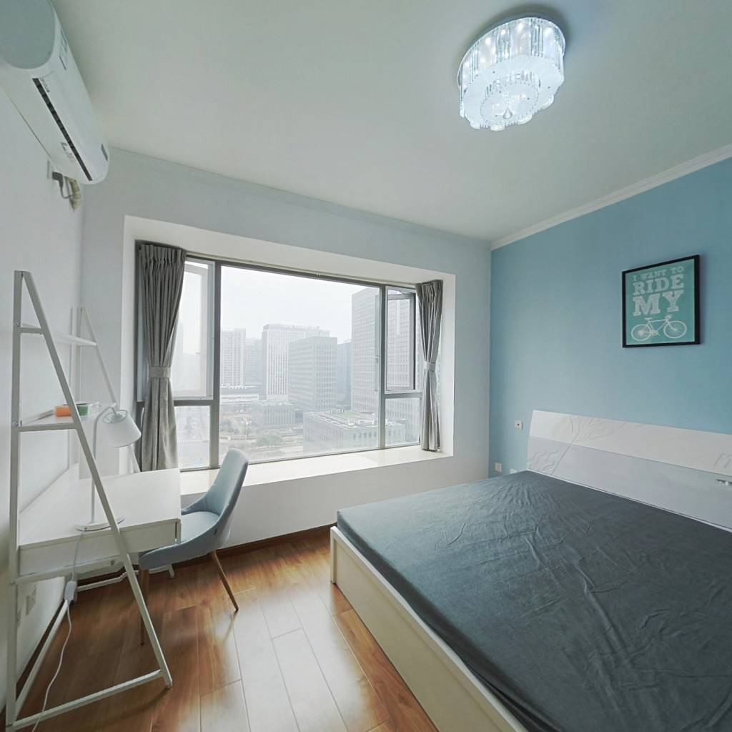 合租·时代晶科名苑 3室1厅 西卧室图
