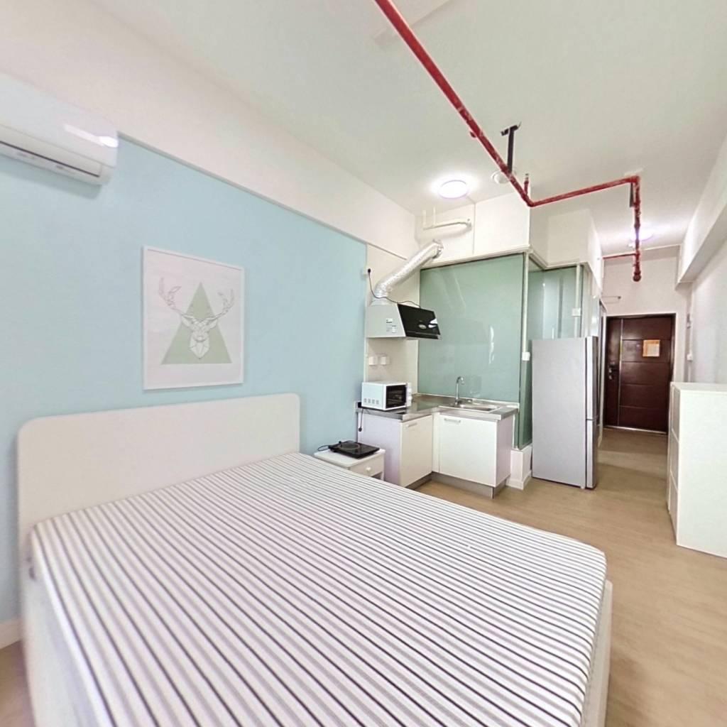 整租·万达茂 1室1厅 北卧室图