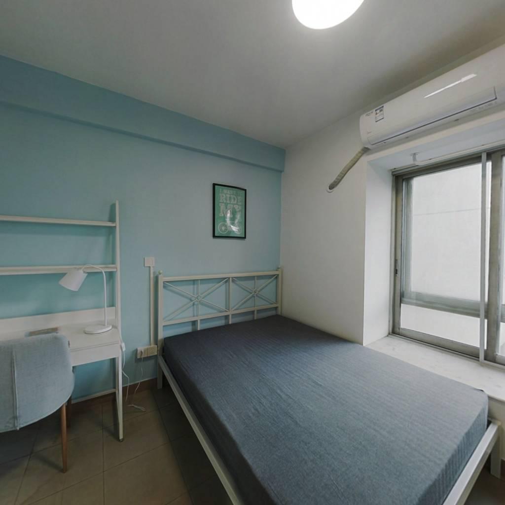 合租·富力半岛花园 3室1厅 南卧室图