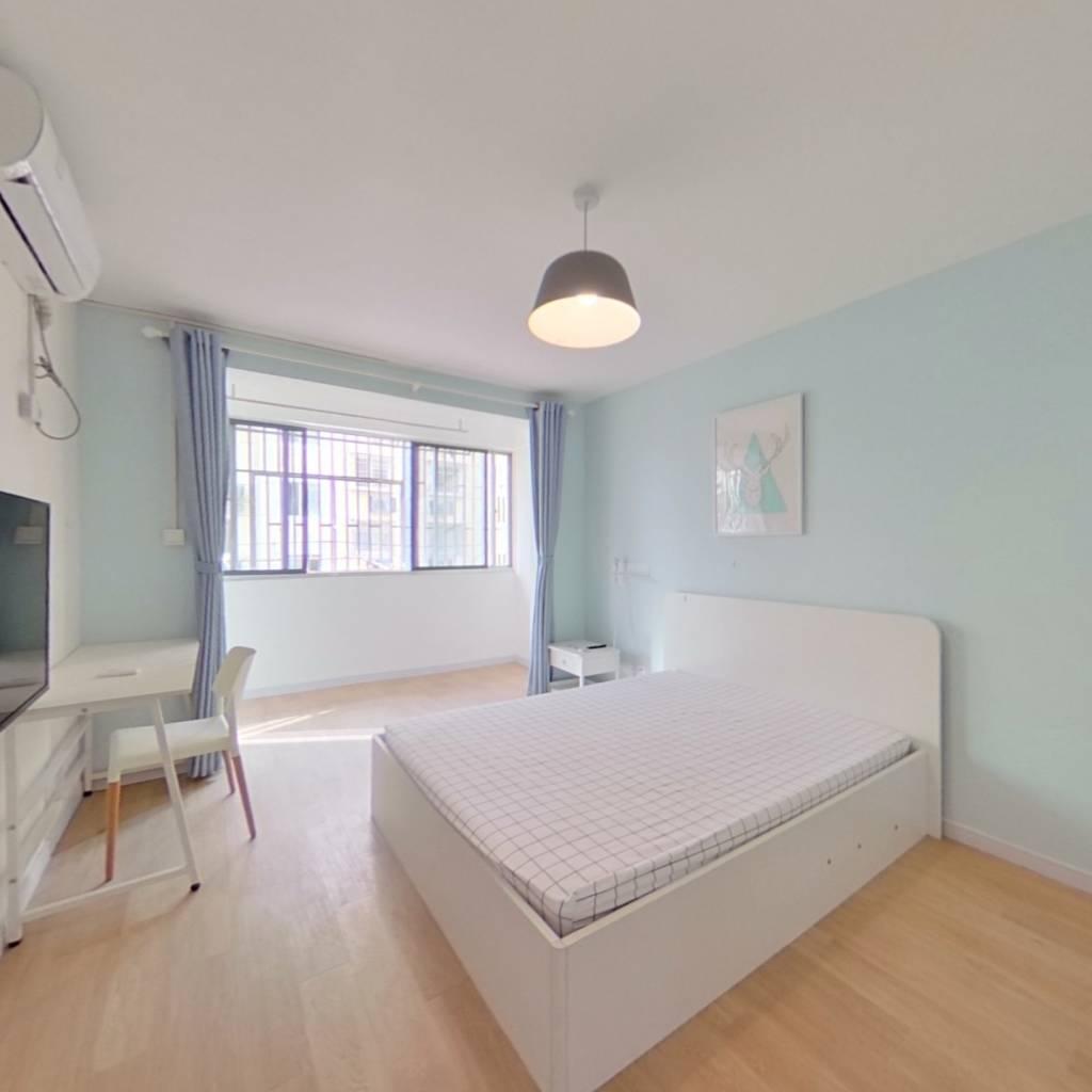整租·春港丽园(公寓) 2室1厅 南卧室图