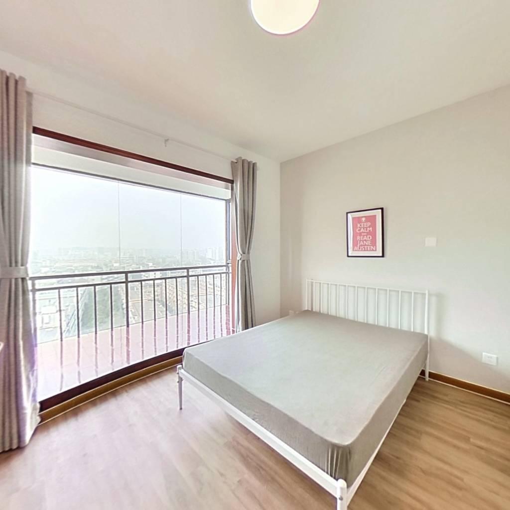 合租·国际花园 3室1厅 西卧室图