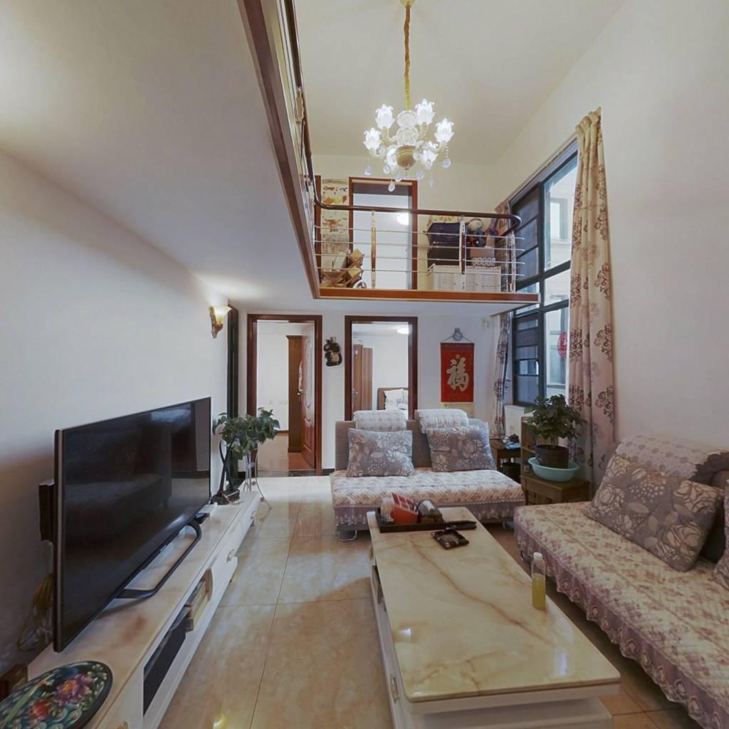 小复式楼 4房全新精装 老人居住方便
