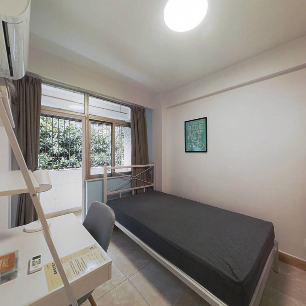 合租·荔园新村(杜鹃山西街) 4室1厅 南卧室图