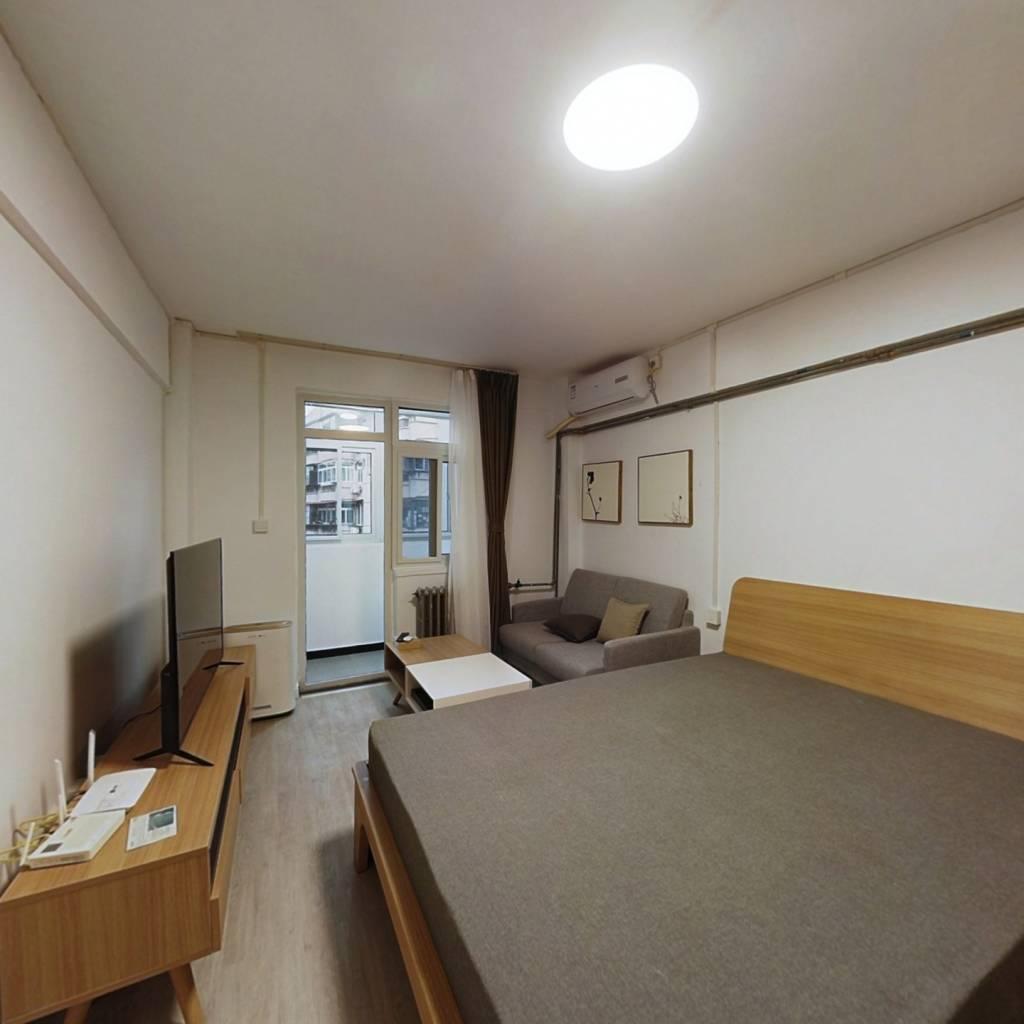 整租·元兴新里 1室1厅 东北卧室图