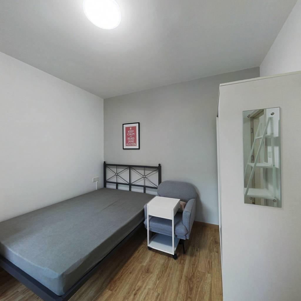 合租·美联联邦生活区二期城仕 4室1厅 南卧室图