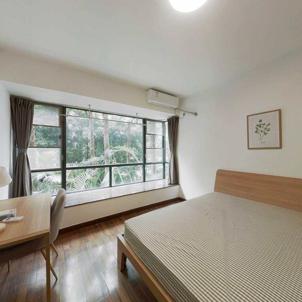 合租·新世界东逸花园 3室1厅 南卧室图