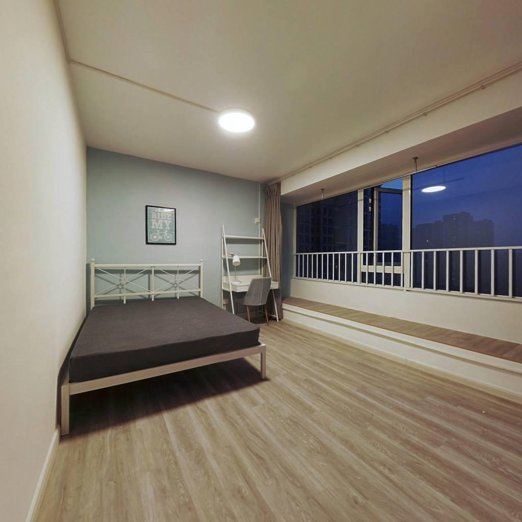 合租·滨江江南之星 5室1厅 北卧室图