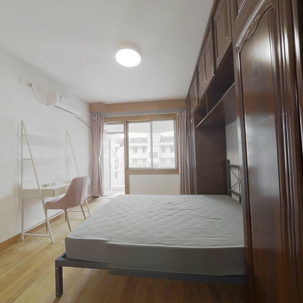 合租·翠苑五区 4室1厅 南卧室图