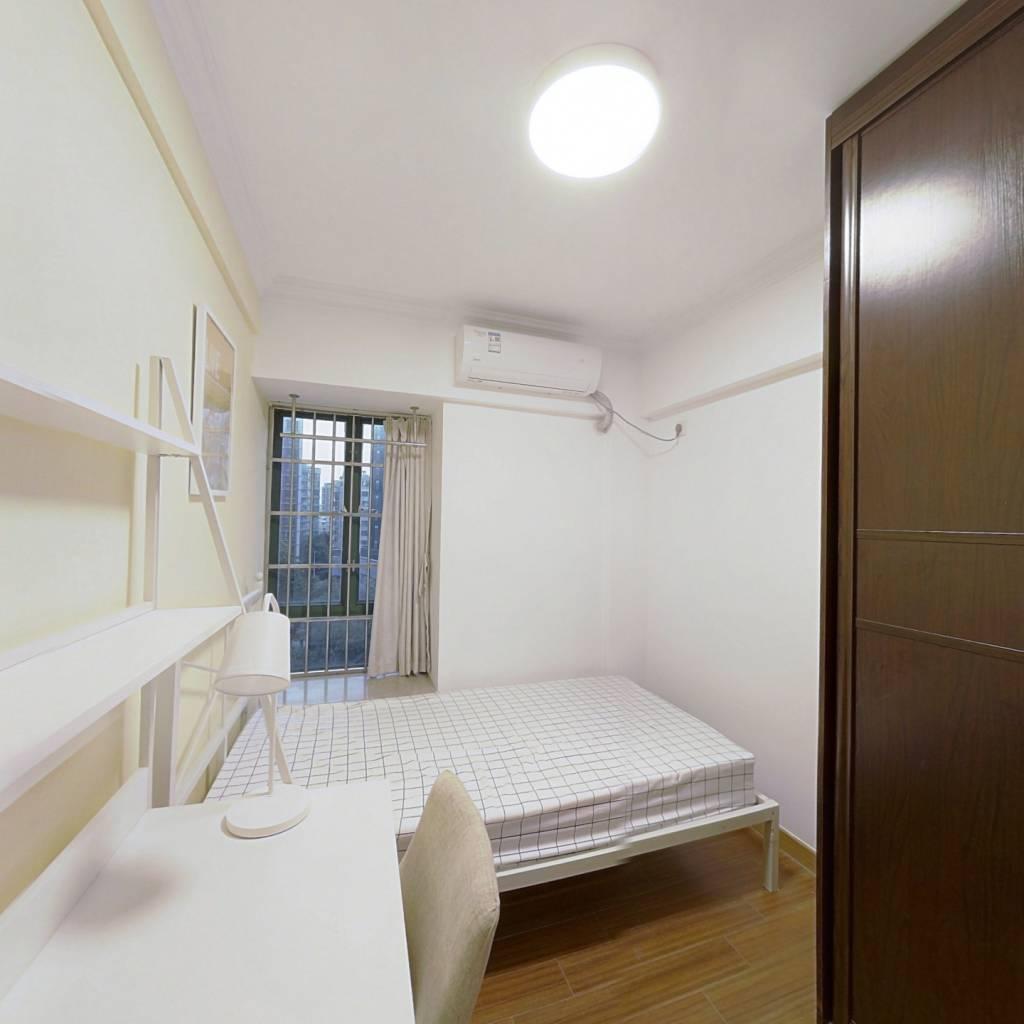合租·贝丽花园 4室1厅 西卧室图