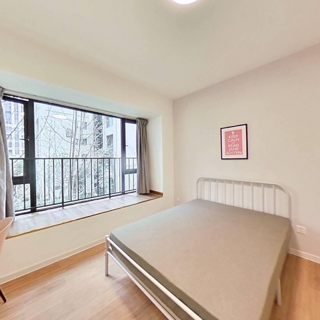 合租·人居盛和林语南区 4室1厅 南卧室图