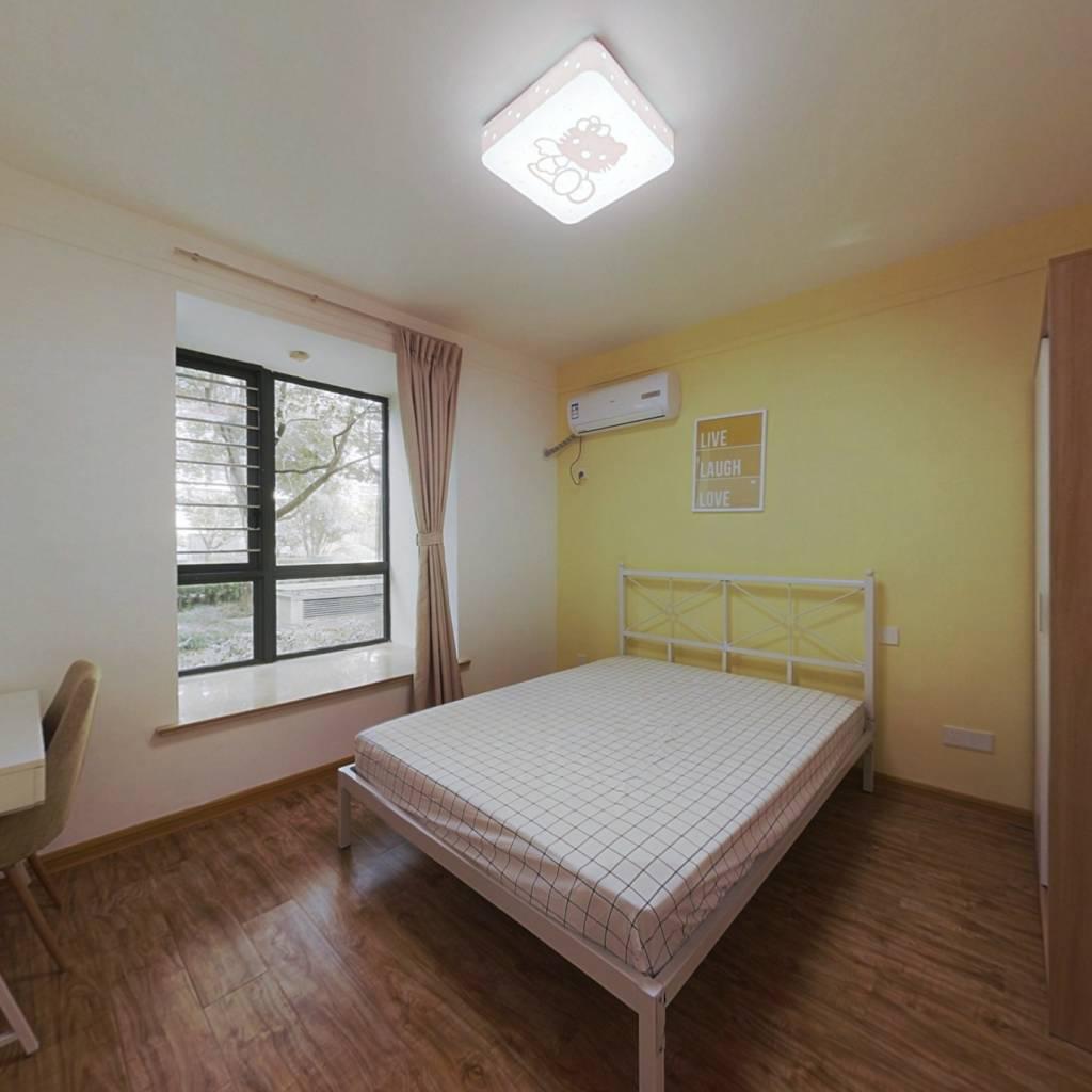 合租·德基紫金南苑 4室1厅 北卧室图
