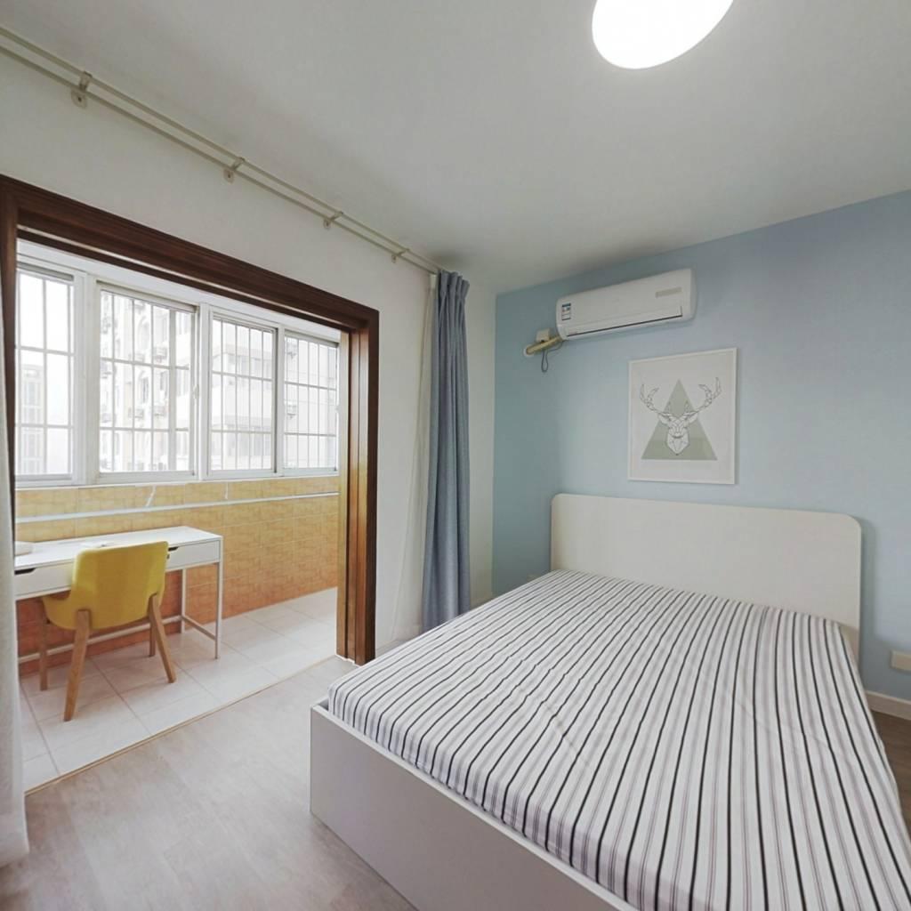 整租·西一新村 2室1厅 东北卧室图
