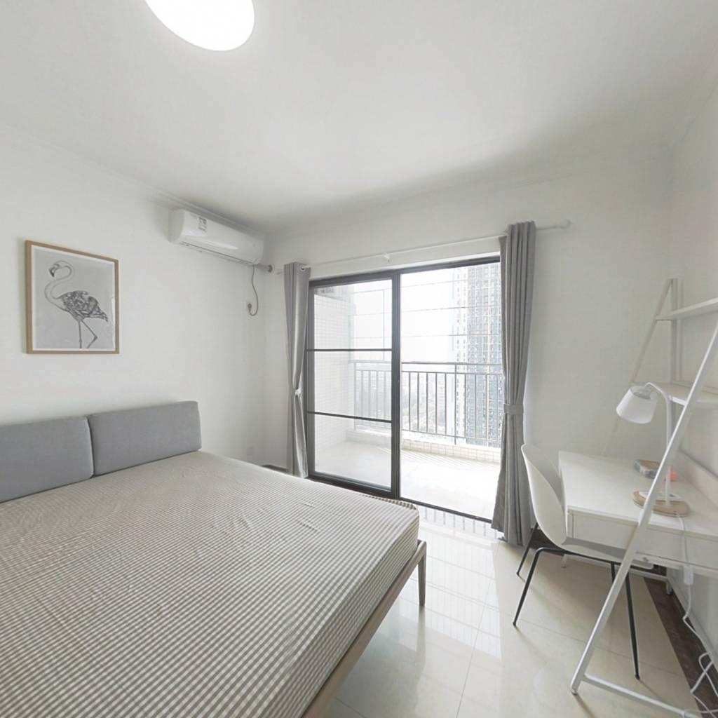 合租·文冲新村一、二期 4室1厅 西卧室图