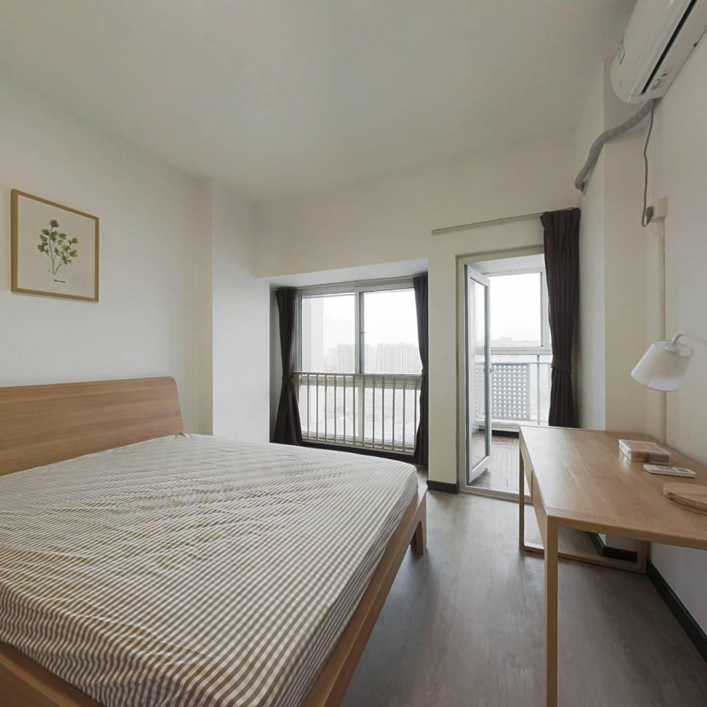 合租·华宇阳光水岸 3室1厅 北卧室图
