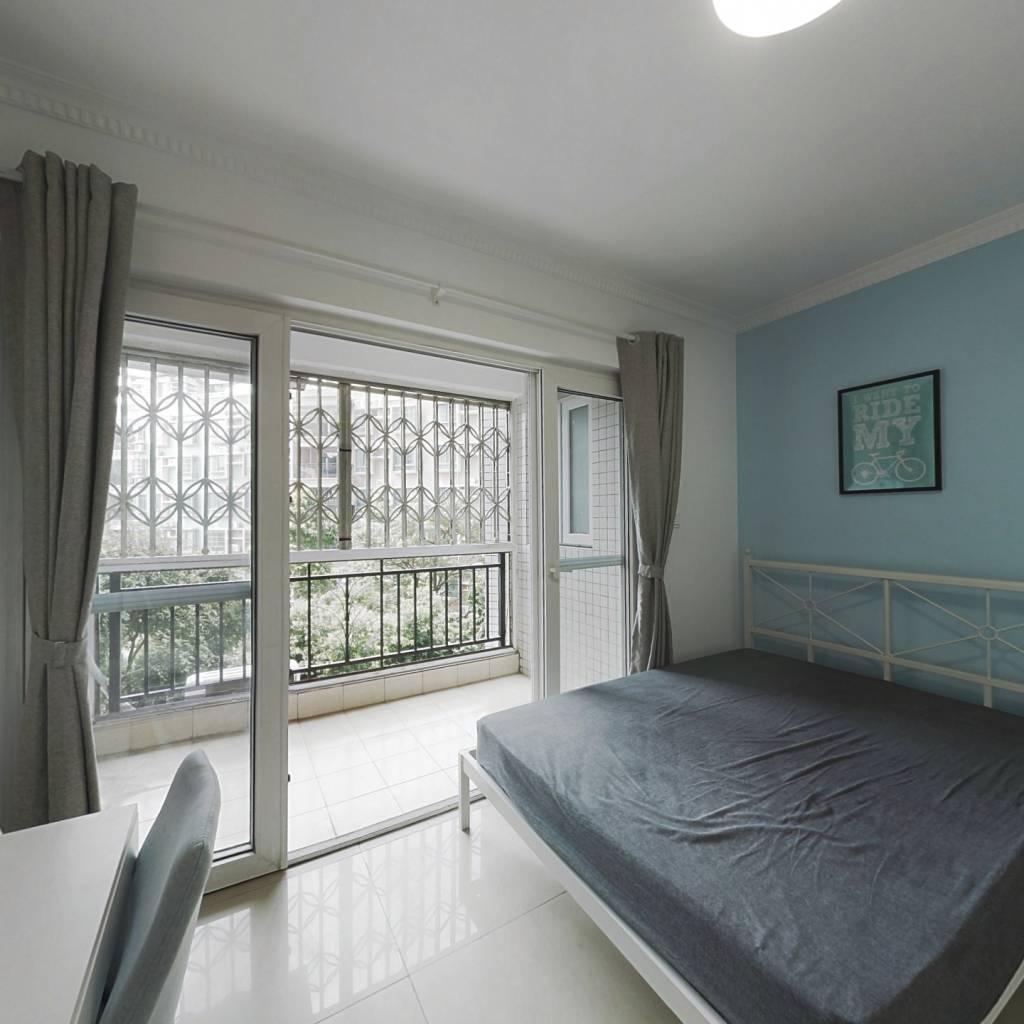 合租·南兴花园(天河区) 4室1厅 南卧室图