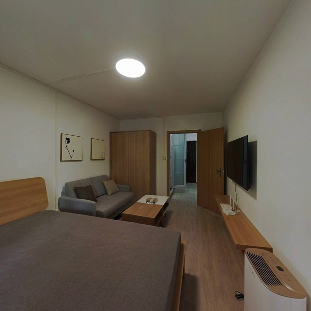 整租·平陆东里 1室1厅 西卧室图