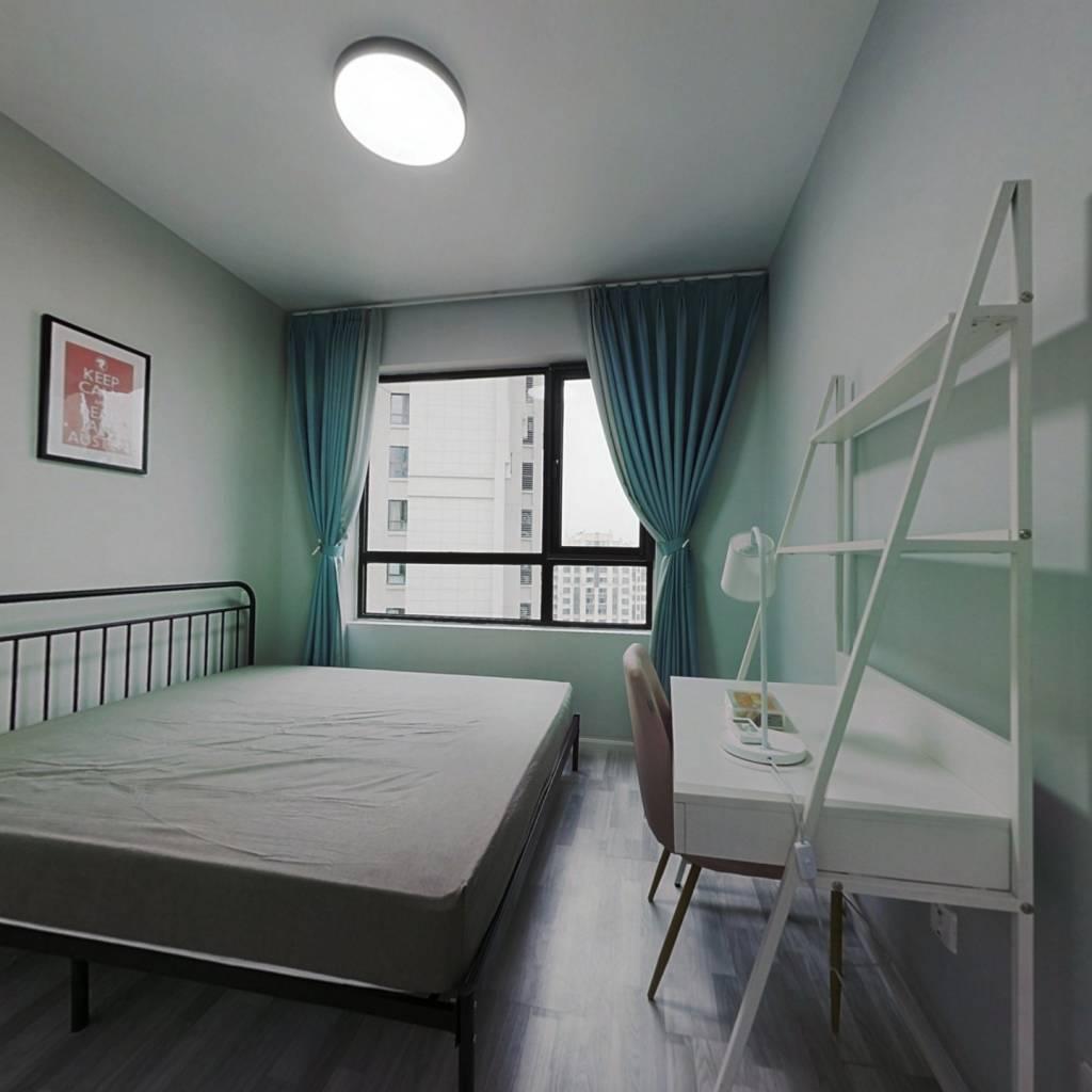 合租·鲁能公馆 4室1厅 西卧室图
