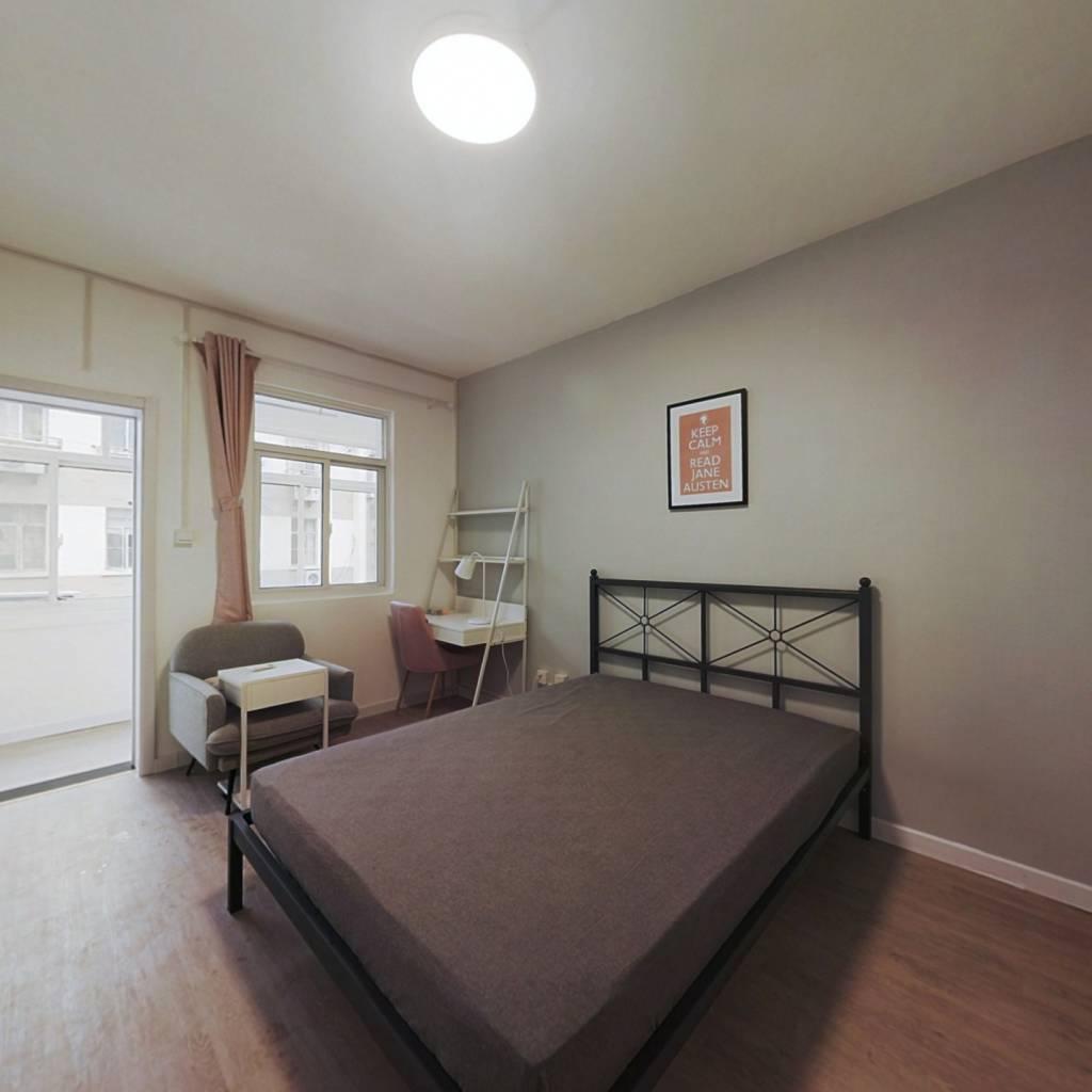 合租·长乐路 3室1厅 北卧室图