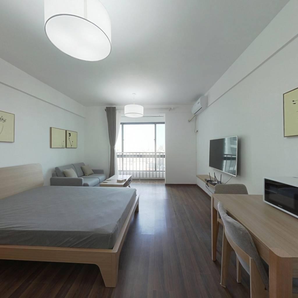 整租·同曦新贵之都 1室1厅 南卧室图