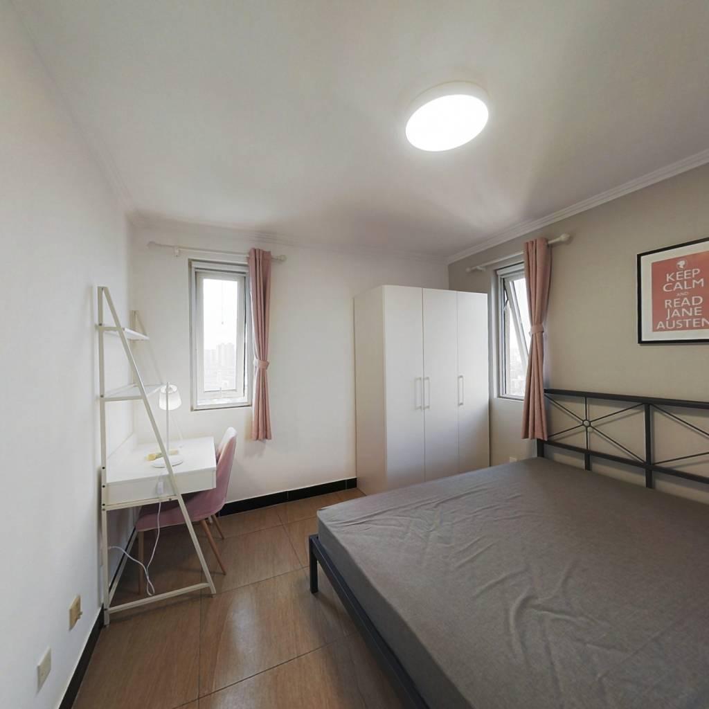 合租·K2清水湾 3室1厅 北卧室图