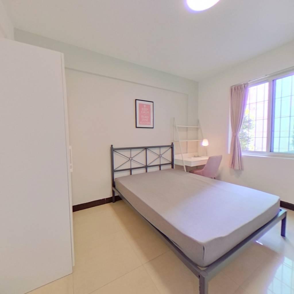合租·汇侨新城南区 4室1厅 东北卧室图